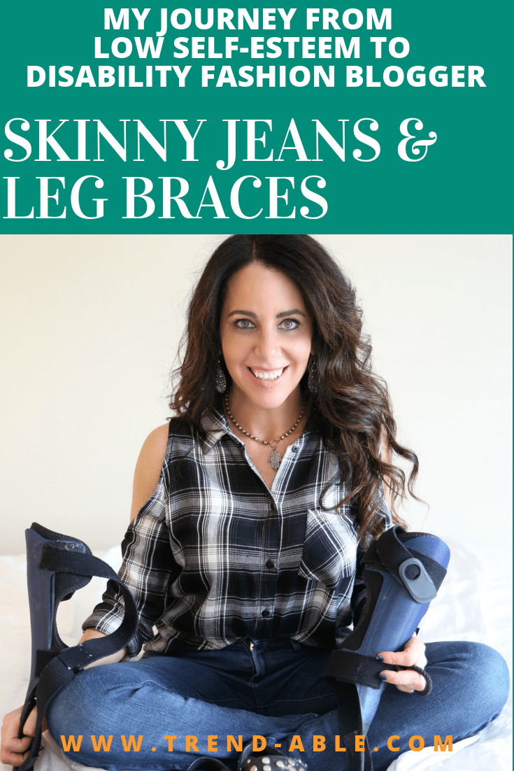 HOW TO WEAR A KNEE BRACE WITH JEANS | SKINNY JEANS