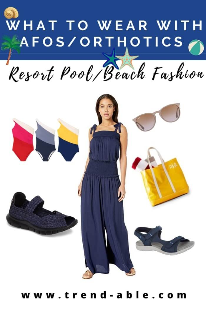 Resort wear for people with disabilities