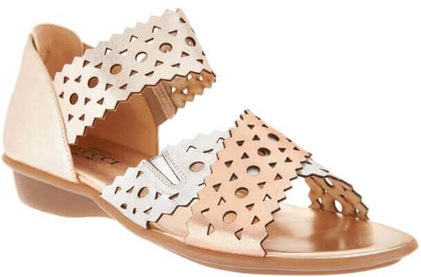 fashion sandals to wear with leg braces