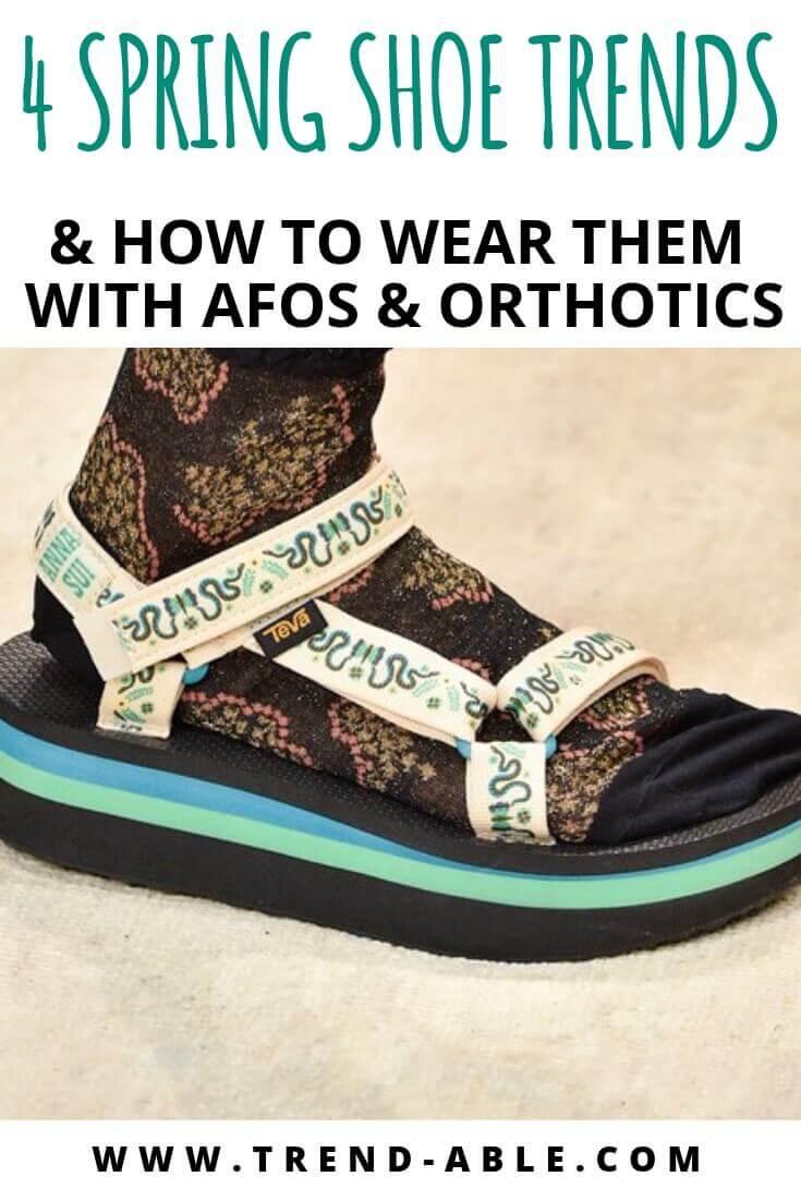 AFO compatible shoes