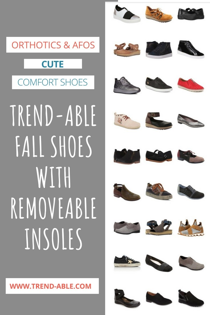 Fall/Winter Shoes With Removable
