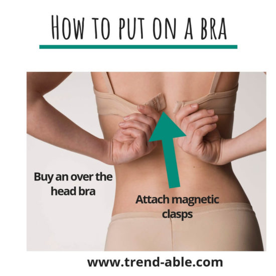How to Put on a bra