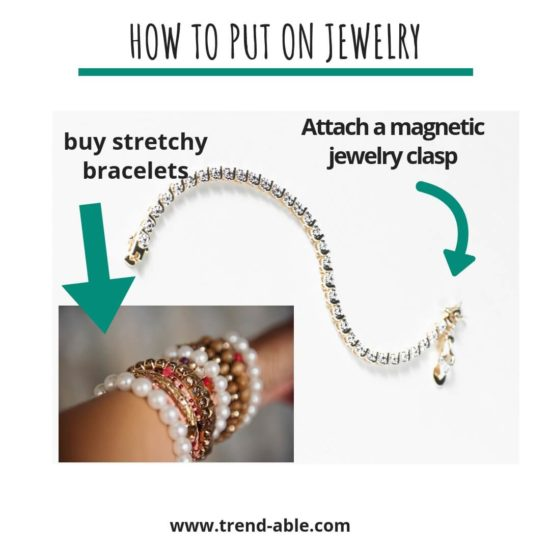 How To Put On Jewelry