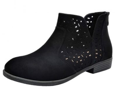 Cute & trendy transition spring shoes/booties that fit afo and orthotics.