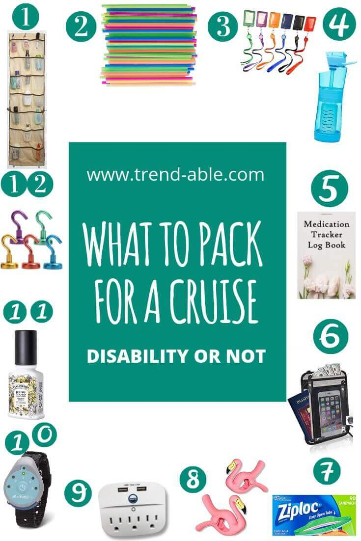 What to pack for a cruise when you're disabled