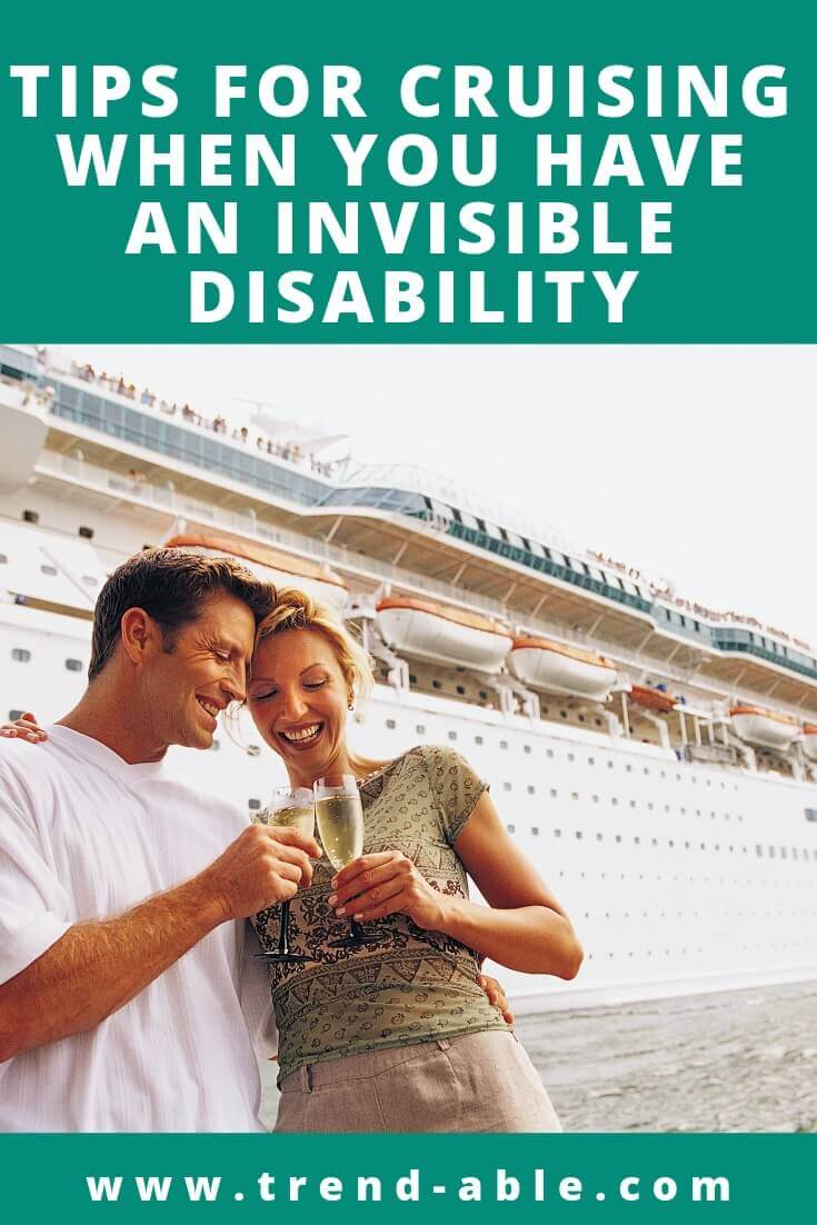 Hacks for invisible disabilities on cruise vacations