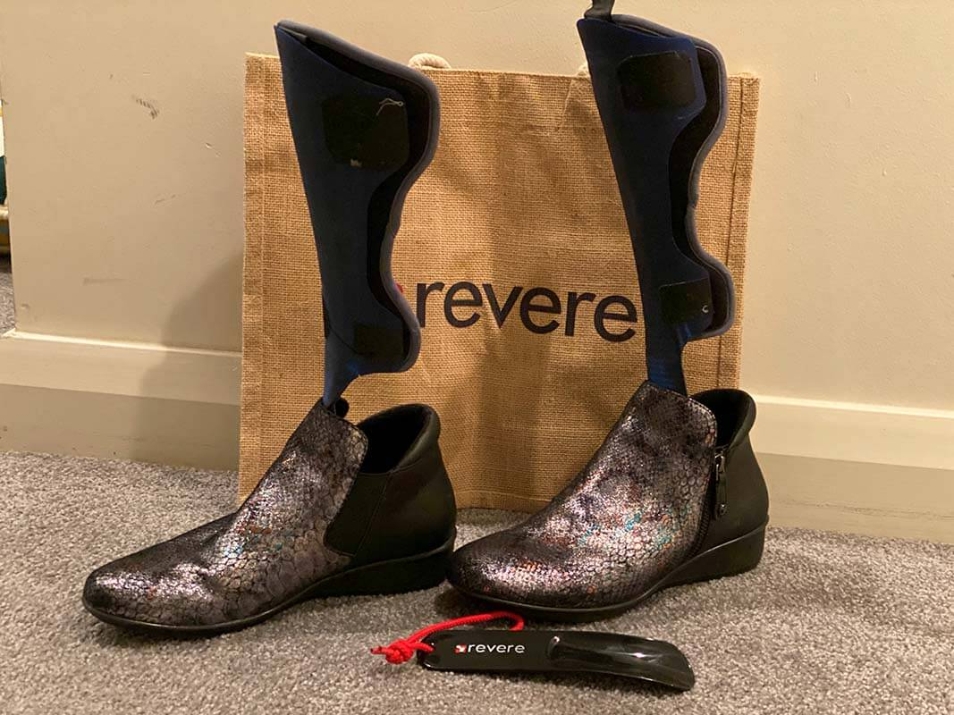 Revere Shoes - great for Afo & orthotic wearers