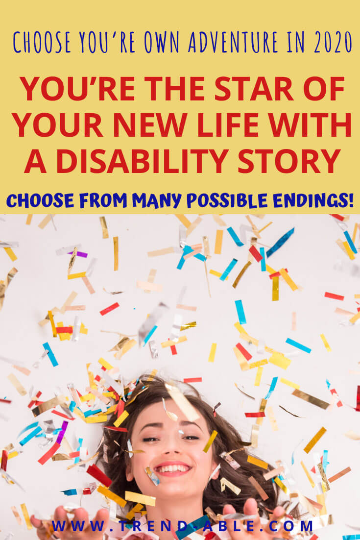How to improve your life and make New Years resolutions With An Invisible Disability like Charcot Marie Tooth Disease.