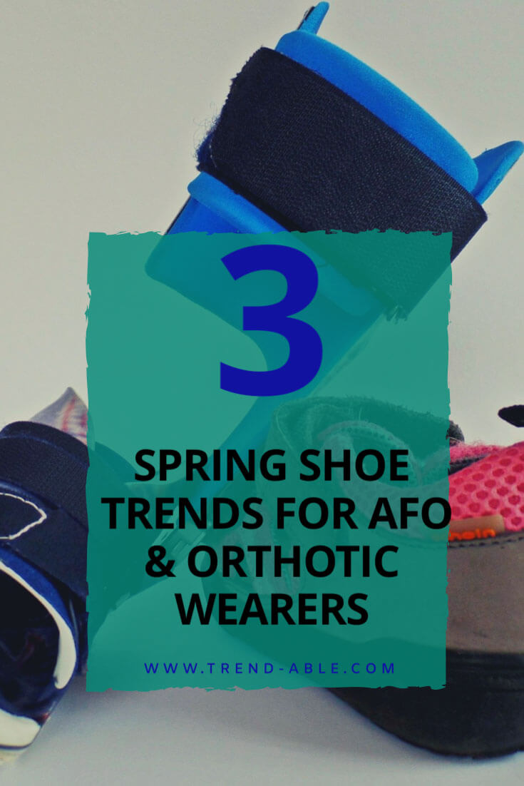 How to wear spring shoes with AFOs