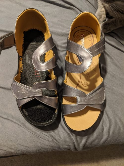 How I finally found sandals that fit my Kafos & disability