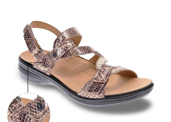 The Miami<br>Velcro Sandal with Removable Foot Bed